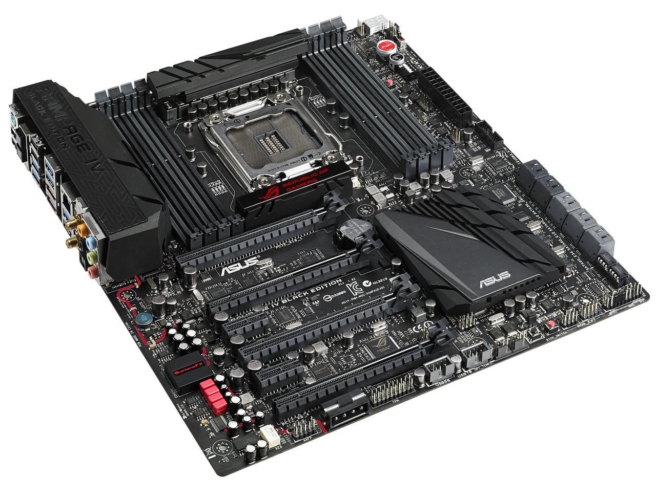 "Материнская плата Asus Rampage IV Black Edition s.2011 X79 DDR3 ""Over-Stock"" Б/У"