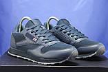 Сині чоловічі легкі кросівки в стилі Reebok Classic, фото 2