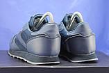 Сині чоловічі легкі кросівки в стилі Reebok Classic, фото 3