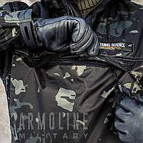 """Анорак - ветровка """"TRAVEL DEFENCE"""" (Black Multicam) НА ФЛИСЕ, фото 9"""