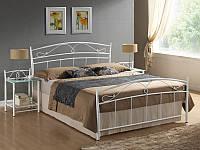 Кровать Siena 160x200 Signal белый
