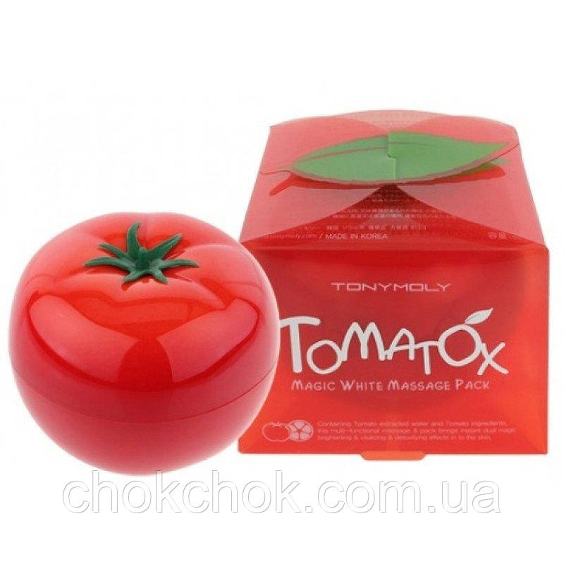 Осветляющая и очищающая маска Tomatox Magic White Massage Pack