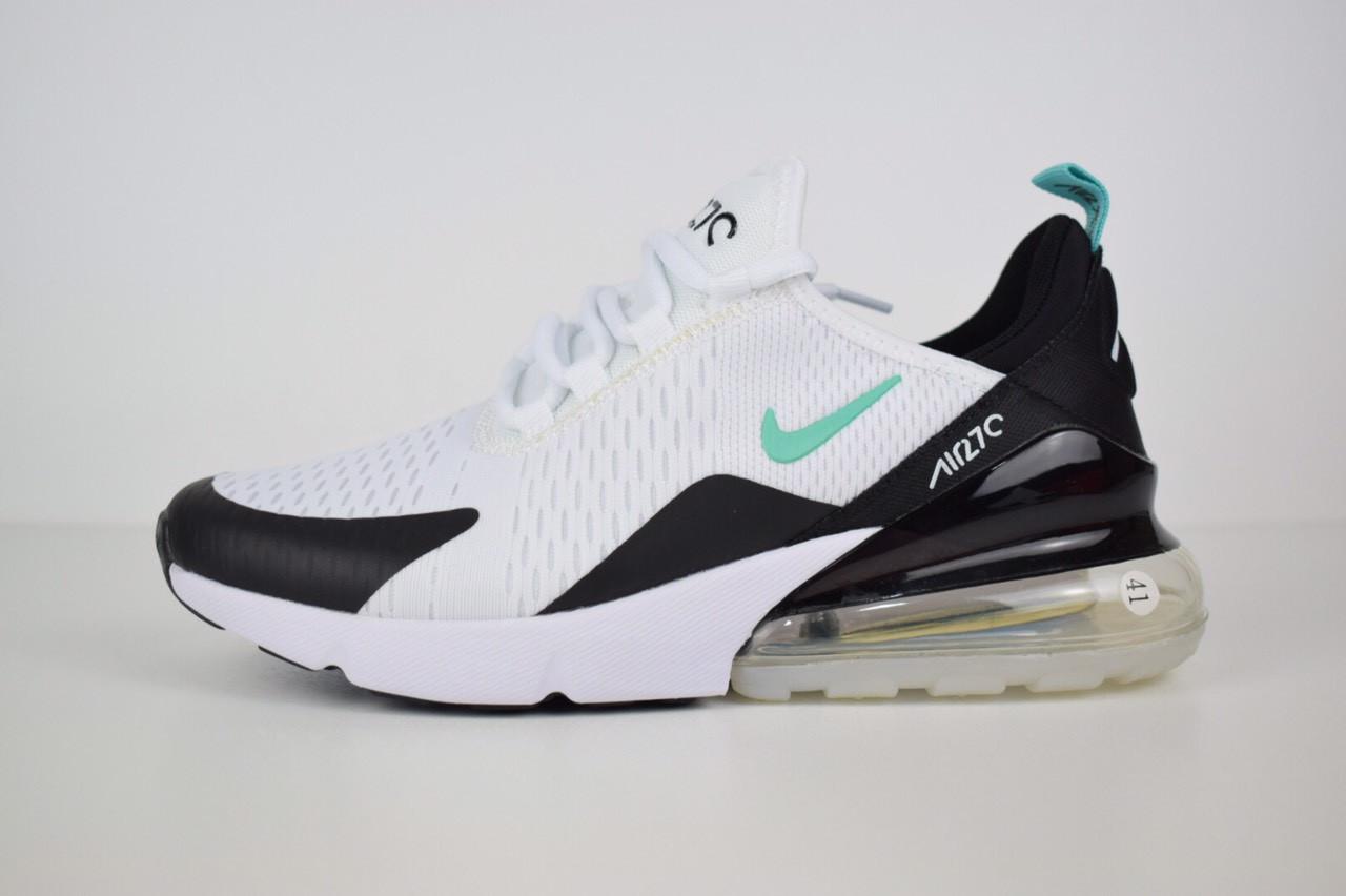c1facd06600d65 Чоловічі кросівки Nike Air Max 270, білі з чорним - BEST-CROSS в Хмельницком