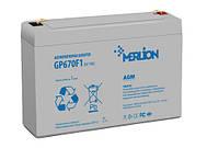 Аккумуляторная батарея для детского электромобиля MERLION 6V/7Ah