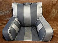 Ортопедическая подушка для чтения с основой.Цветная .Белая. Без наволочки