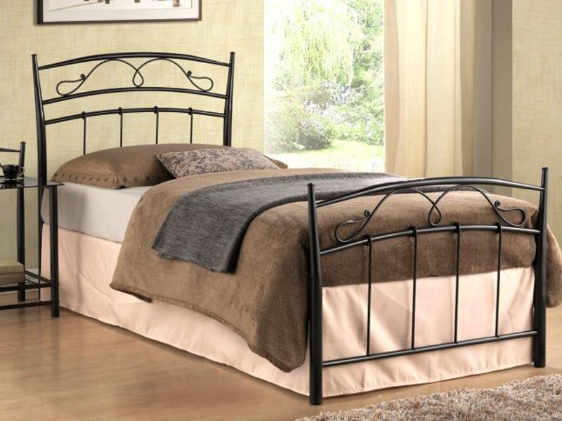 Кровать Siena 90x200 Signal черный