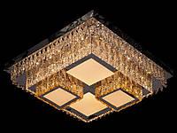 Хрустальный светильник потолочный с пультом 8570-50, фото 1