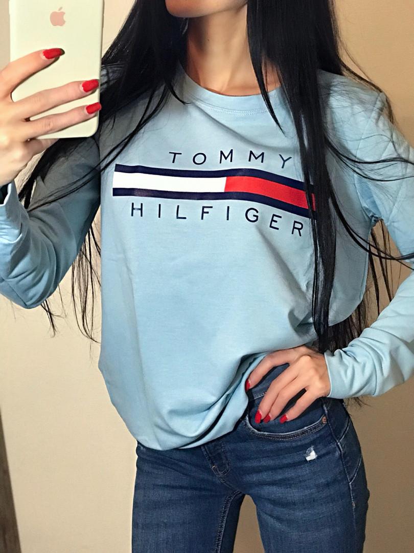 """Свитшот женский """"Tommy 2018"""""""
