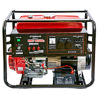 Бензиновый трехфазный генератор ETERNUS BHT8000DXE