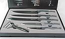 Набор ножей Zelff t8139 5 штук с овощечисткой в коробке, фото 2