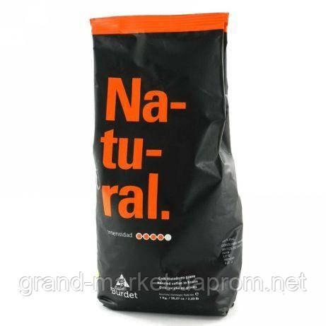 """Кофе в зернах """" Cafe Burdet Natural """" 1 kg."""