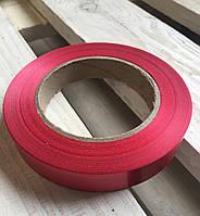 Лента Алая (красная) для упаковки цветов и подарков 20 мм. Х 60 м.