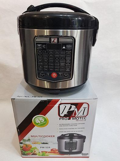 Мультиварка Promotec PM-524 45 программ, 5 л, 860W, фото 2Мультиварка Promotec PM-524 45 программ,  5 л, 860