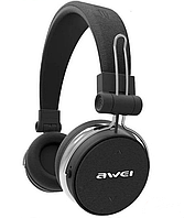 Бездротові Bluetooth-навушники Awei A700BL, чорні
