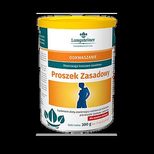 Дієтична добавка для регулювання кислотно-лужного балансу Langsteiner Proszek Zasadowy 300 г (2943012)