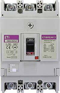 Автоматический выключатель EB2S 250/3LF 250A 3p