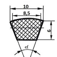 Ремень клиновой  Z (0)-500