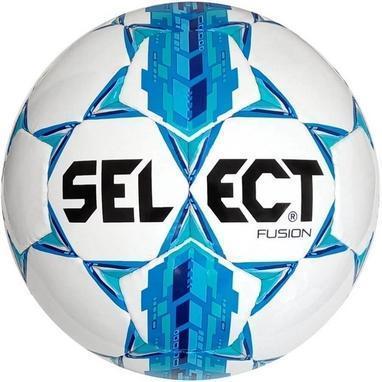 М'яч футбол №5 SELECT Fusion (IMS APPROVED) біло-синій (005)