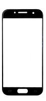 Стекло (для ремонта дисплея) для Samsung A520F Galaxy A5 (2017), с OCA пленкой, цвет черный