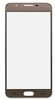 Стекло (для ремонта дисплея) для Samsung G610F Galaxy J7 Prime, с OCA-пленкой, цвет золотой