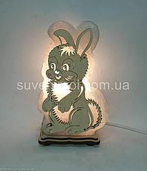 Соляна лампа Заєць М