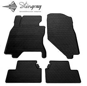 Коврики резиновые в салон Infiniti G Sedan (V36) 2006-2013 (4 шт) Stingray 1033074
