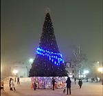 Новорічна ялинка у Борисполі 2019