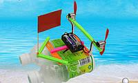 """Развивающий конструктор """"Кораблик на ветряках"""" (научный конструктор, научная сборная модель), фото 1"""