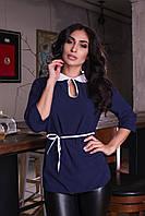 ЖІноча блуза з поясом.Р-ри 42-48