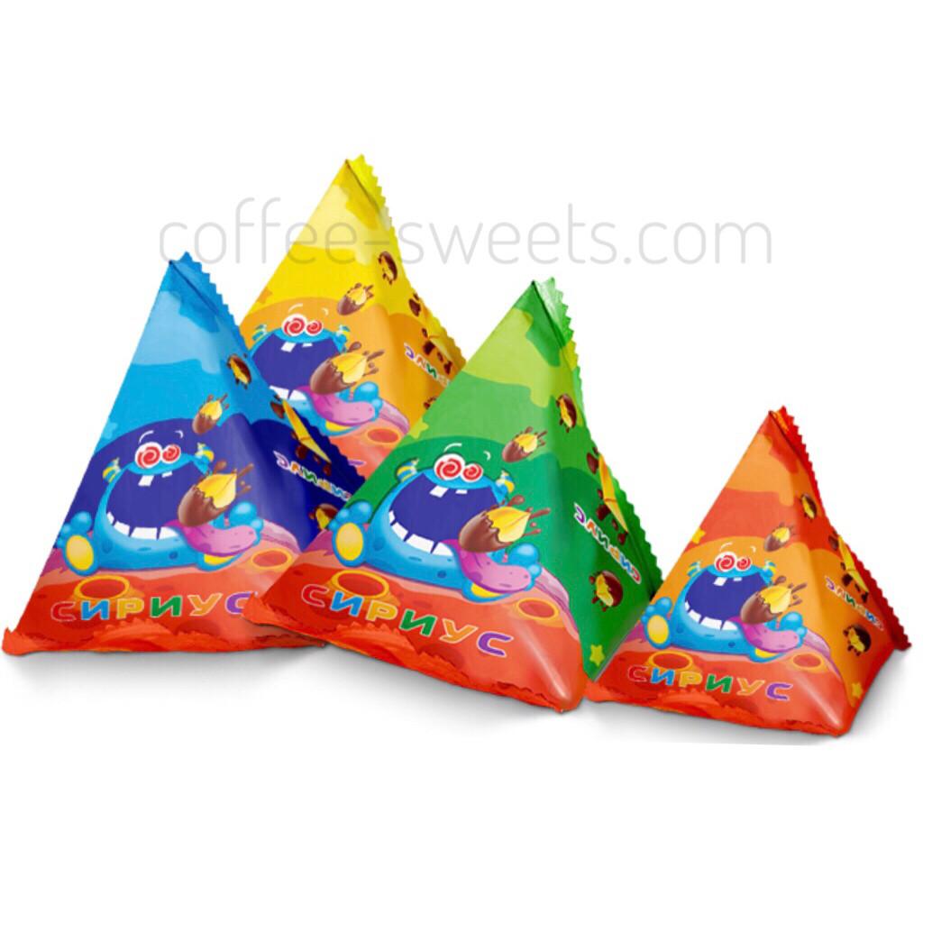 Конфеты Сириус Пирамидка