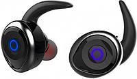 Беспроводные Bluetooth наушники Awei T1 Twins Earphones, черные