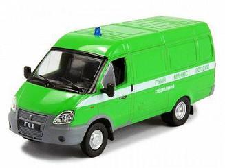 Модель Автомобиль на Службе ГАЗ-2705 ГАЗель (цельнометаллический фургон) ФСИН (1:43)