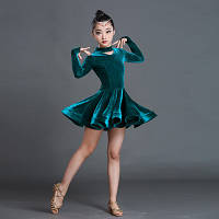 Детские латинские танцевальные костюмы