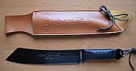 Нож туристический мачете Слай 2, с мощным клинком для вырубки тростника, ветвей и настоящих бревен