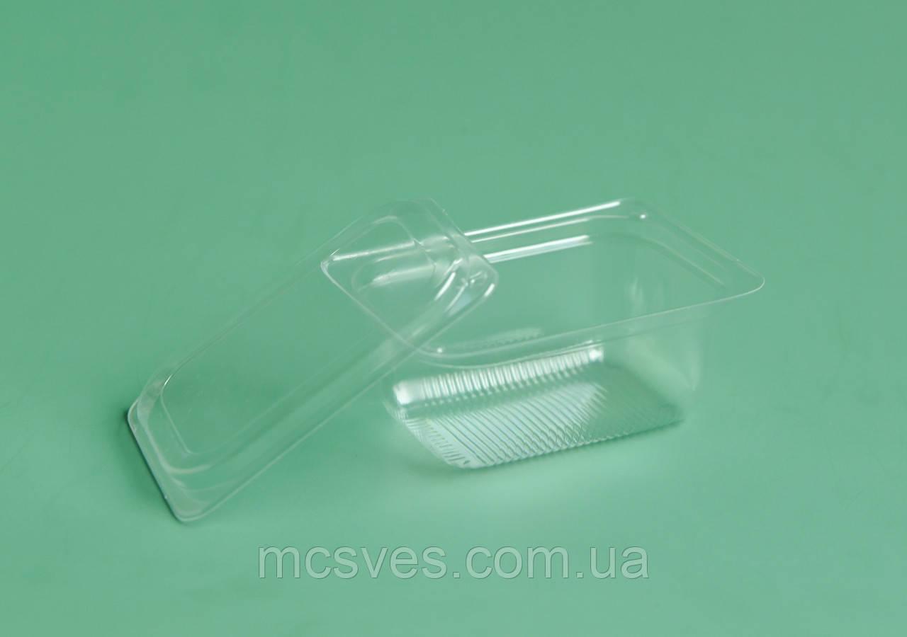 Соусник прозрачный с крышкой 75 мл. ПС-190