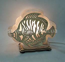 Соляная лампа  Рыбка большая