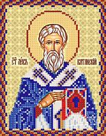 Схема для вышивки бисером  Св. Лев Катанский, епископ
