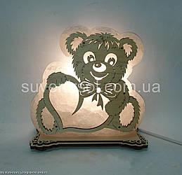 Соляная лампа Мишка большой