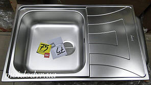 Кухонная мойка с нержавеющей стали Teka UNIVERSO 1C1E MAX