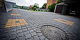 Тротуарная плитка для промзон «Волна», черный, 80 мм, заводское качество, фото 5