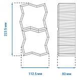 Тротуарная плитка для промзон «Волна», черный, 80 мм, заводское качество, фото 7
