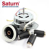 Мотор, двигатель отжима Saturn YYG-70 (медная обмотка) в комплекте с сальником