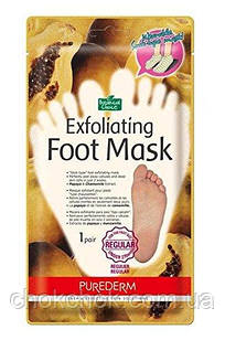 Пилинг носочки purederm exfoliating foot mask