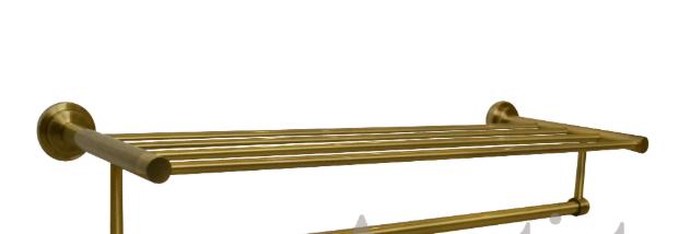 Полочка вешалка для полотенец 6-110