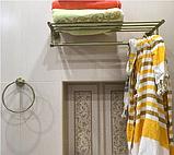 Полочка вешалка для полотенец 6-110, фото 4