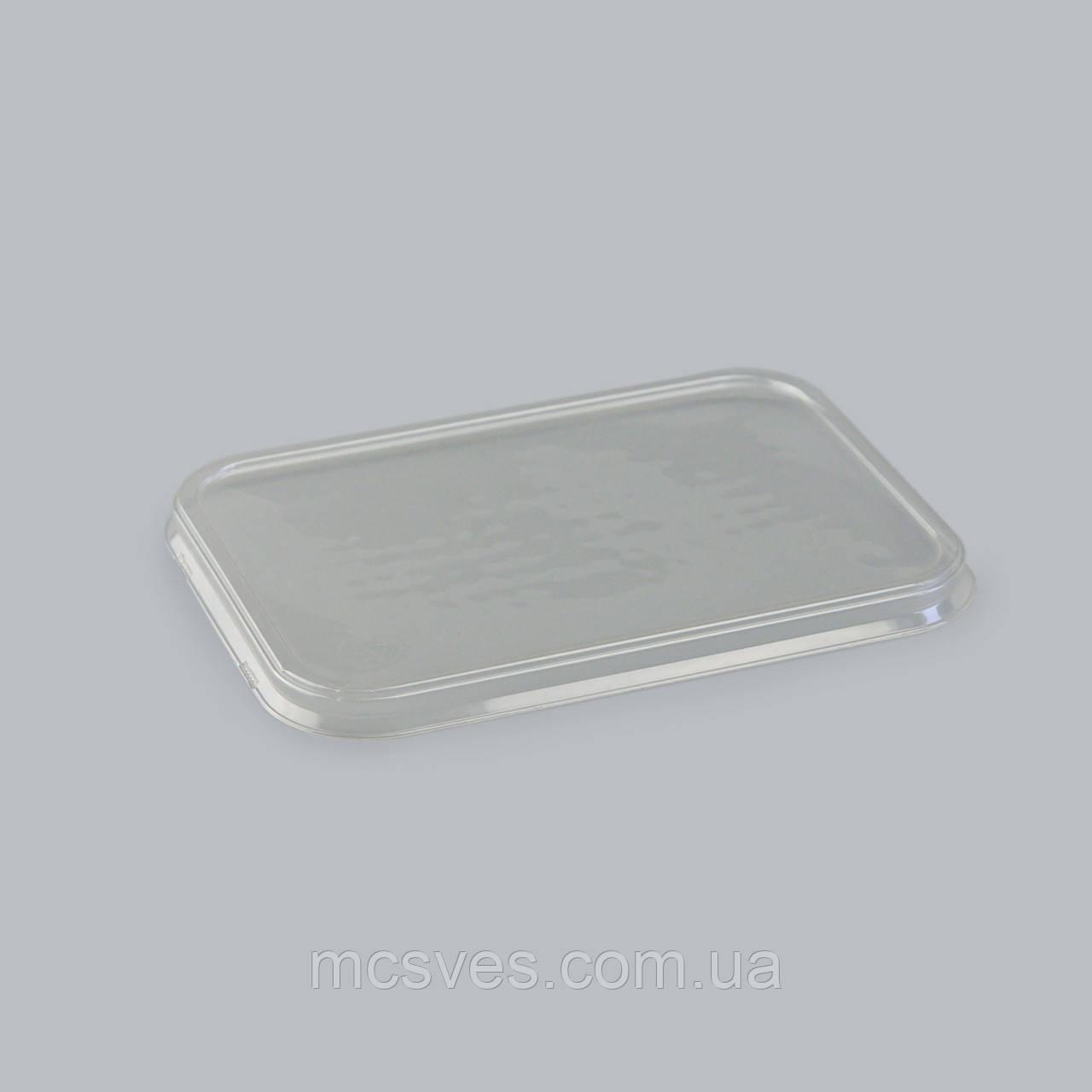 Крышка УК-361К PЕТ прозрачная, 720 шт/уп