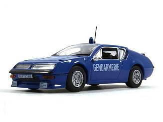 Модель Полицейские Машины Мира (ДеАгостини) №11 Alpine Renault A310 (1:43)