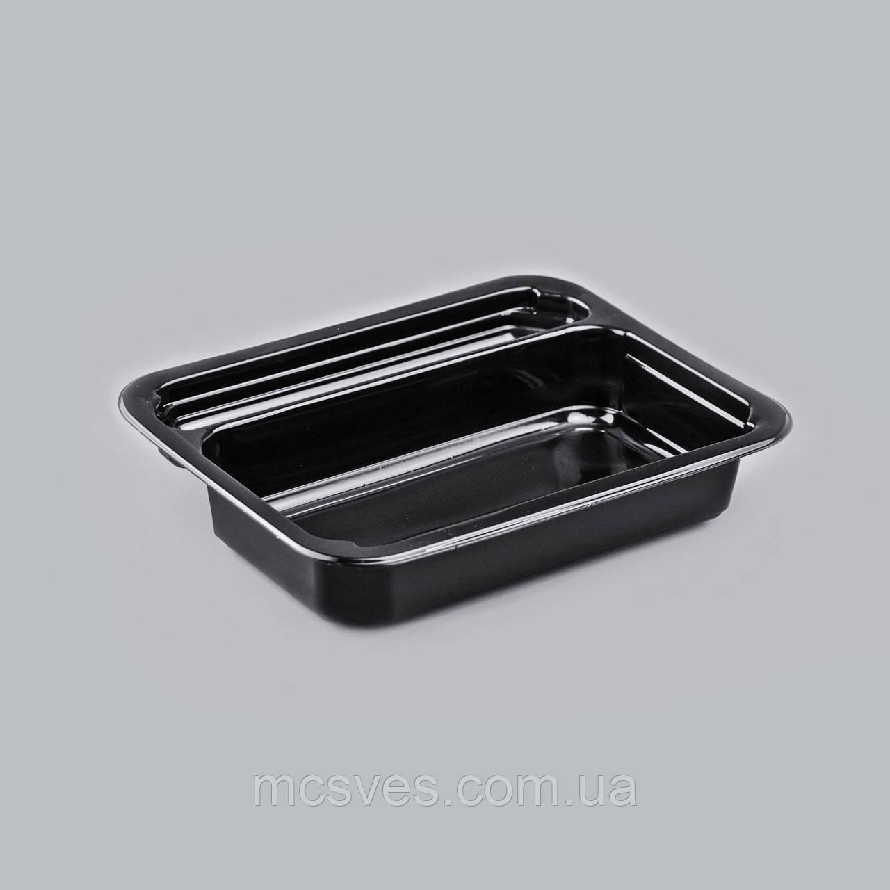 Контейнер УК-613, PР, чорный, 470 мл, 330 шт/уп