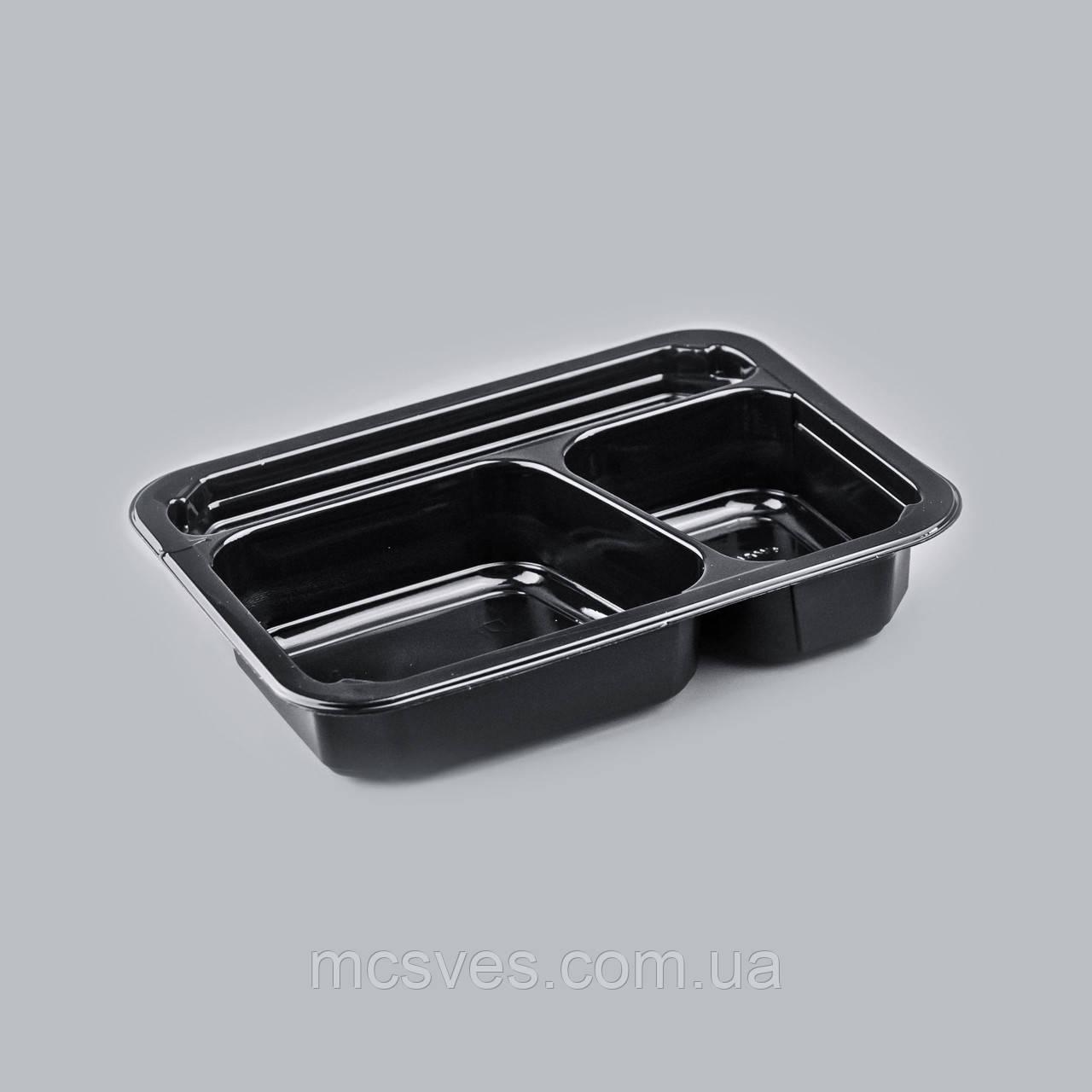 Контейнер УК-614-01, PР, чорный,  330 шт/уп