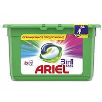 Капсулы для стирки Ariel 3 in 1 13 шт